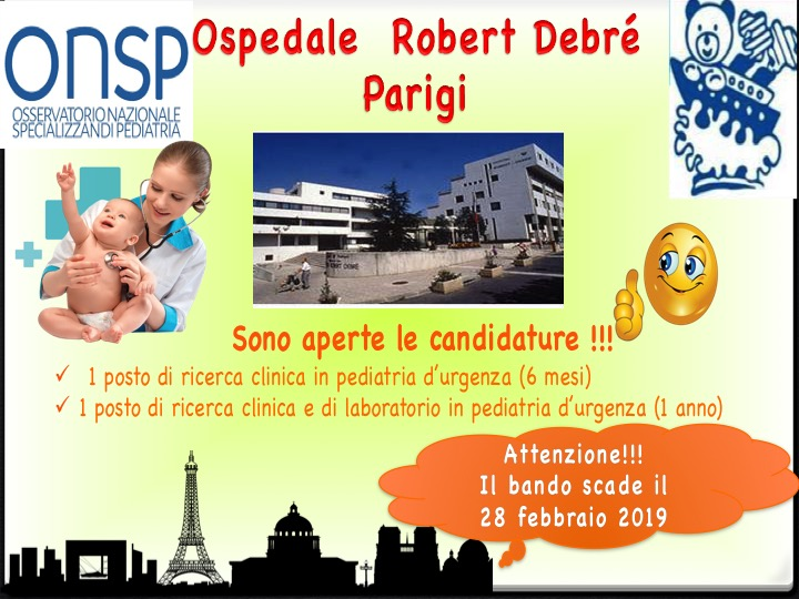 Candidature Hôpital universitaire Robert-Debré