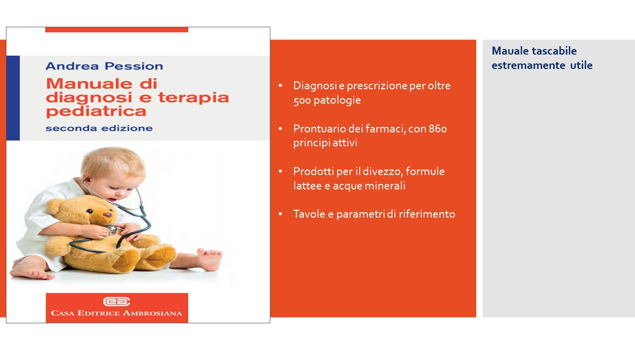 Manuale di Diagnosi e Terapia Pediatrica- Pession